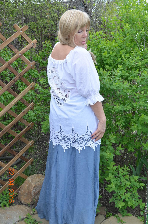 Купить нарядную белую блузку женскую