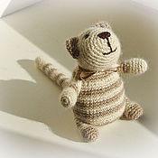 Куклы и игрушки ручной работы. Ярмарка Мастеров - ручная работа кот мягкий, некрупный. Handmade.