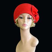 Аксессуары handmade. Livemaster - original item Red retro. Handmade.