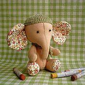 Куклы и игрушки ручной работы. Ярмарка Мастеров - ручная работа Слоник-крошка Лапушка. Handmade.