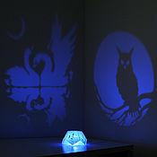 """Ночники ручной работы. Ярмарка Мастеров - ручная работа Самосвет """"Птицы"""" проекционный ночник. Handmade."""