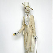 Куклы и игрушки ручной работы. Ярмарка Мастеров - ручная работа Денди Авторская коллекционная кукла. Handmade.
