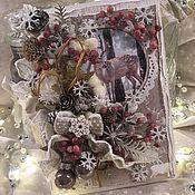 Открытки ручной работы. Ярмарка Мастеров - ручная работа Открытки: Рождественское настроение 2. Handmade.