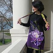 """Платья ручной работы. Ярмарка Мастеров - ручная работа туника """"Mon Iris"""". Handmade."""