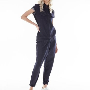 Одежда ручной работы. Ярмарка Мастеров - ручная работа Комбинезон из трикотажа под джинсу. Handmade.