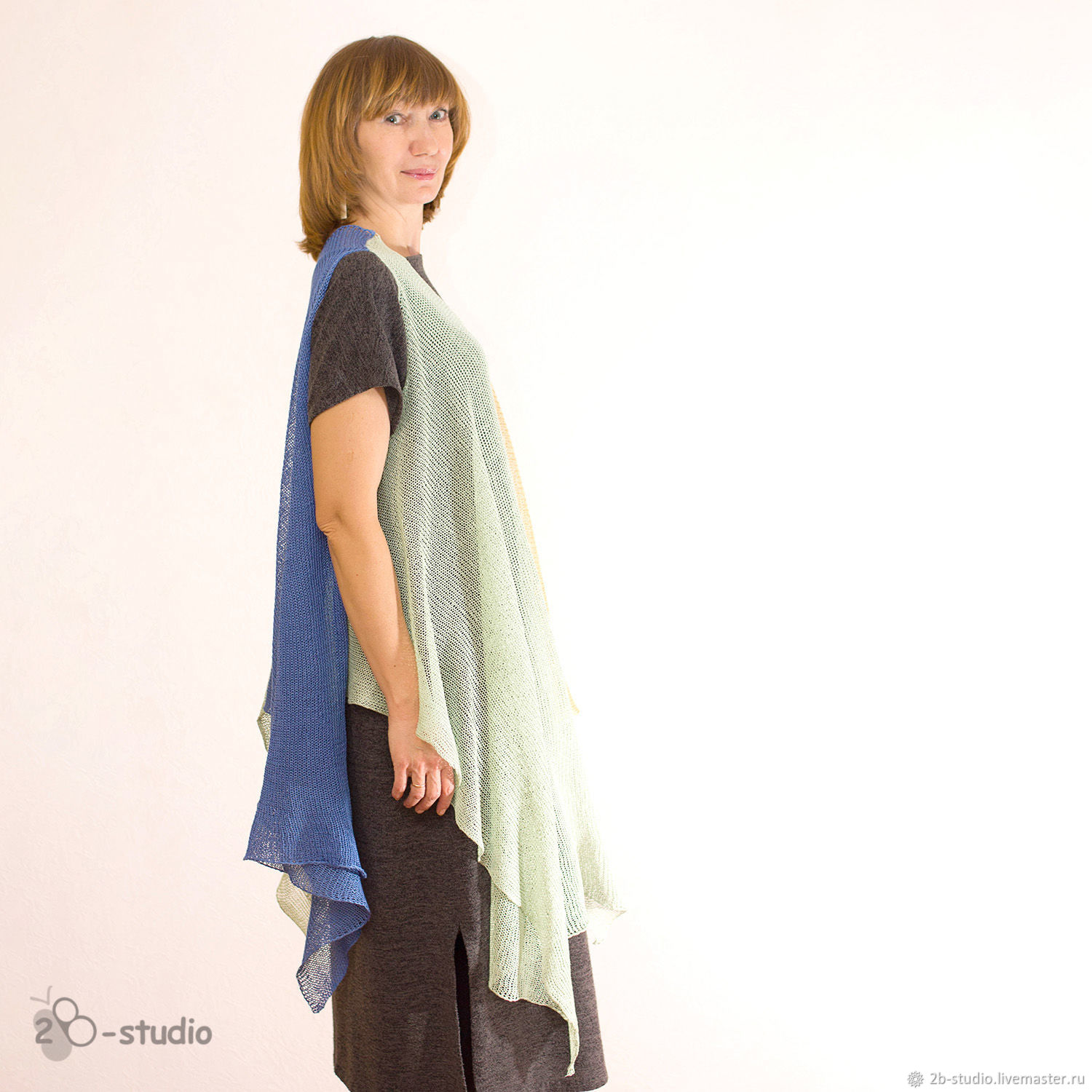 Master class on knitting Tunic Gypsy the pattern of the Model from ...