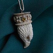 """Украшения ручной работы. Ярмарка Мастеров - ручная работа Подвеска """"Голова орла"""". Handmade."""