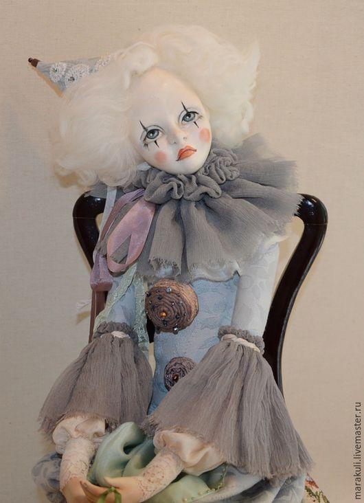 Авторская, будуарная кукла `Люка`. Сделана на заказ.