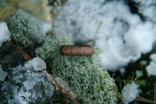 Кольца ручной работы. Ярмарка Мастеров - ручная работа. Купить деревянное кольцо. Handmade. Подарок девушке, свадьба, оригинальное кольцо