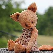 Куклы и игрушки ручной работы. Ярмарка Мастеров - ручная работа Лисичка-Тедди Ринка. Handmade.