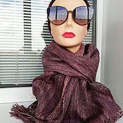 Аксессуары handmade. Livemaster - original item scarf-gossamer. Handmade.