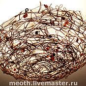 """Для дома и интерьера ручной работы. Ярмарка Мастеров - ручная работа Люстра """"Гнездо на заливе"""". Handmade."""