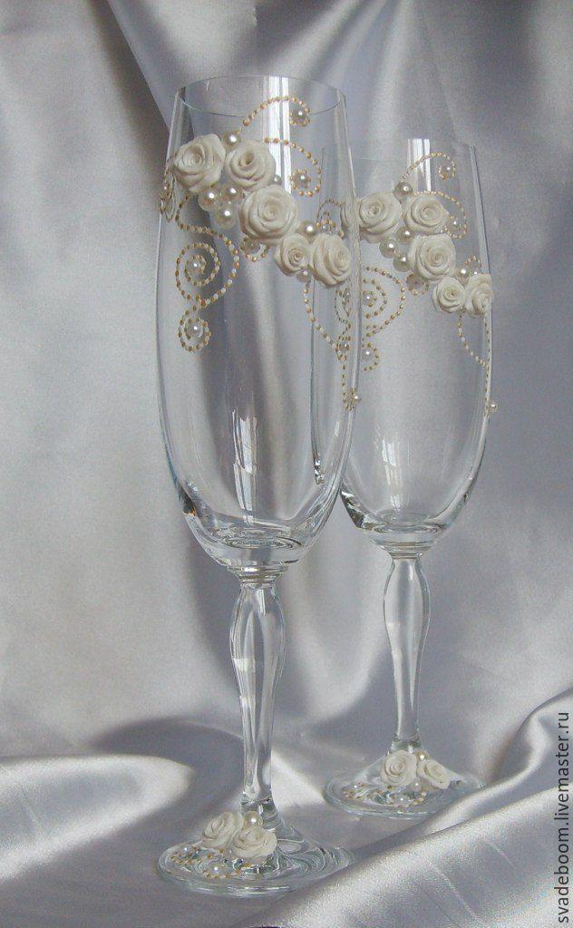 Бокалы свадебные для начинающих