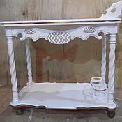 Для дома и интерьера ручной работы. Ярмарка Мастеров - ручная работа столик сервировочный,в стиле прованс,кантри. Handmade.