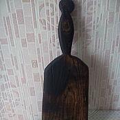 Русский стиль handmade. Livemaster - original item Cutting Board made of oak, no№7. Handmade.
