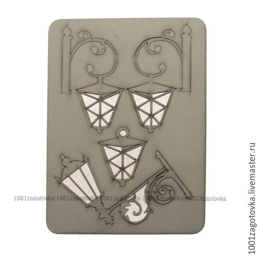 Аппликации, вставки, отделка ручной работы. Ярмарка Мастеров - ручная работа. Купить Картонный чипборд с тематическими заготовками для творчества. Handmade.