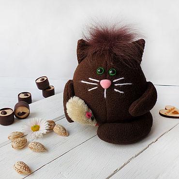 Dolls & toys handmade. Livemaster - original item Soft kitty fleece