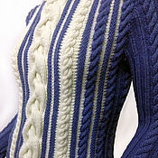"""Одежда ручной работы. Ярмарка Мастеров - ручная работа Джемпер """"Изморозь"""". Handmade."""