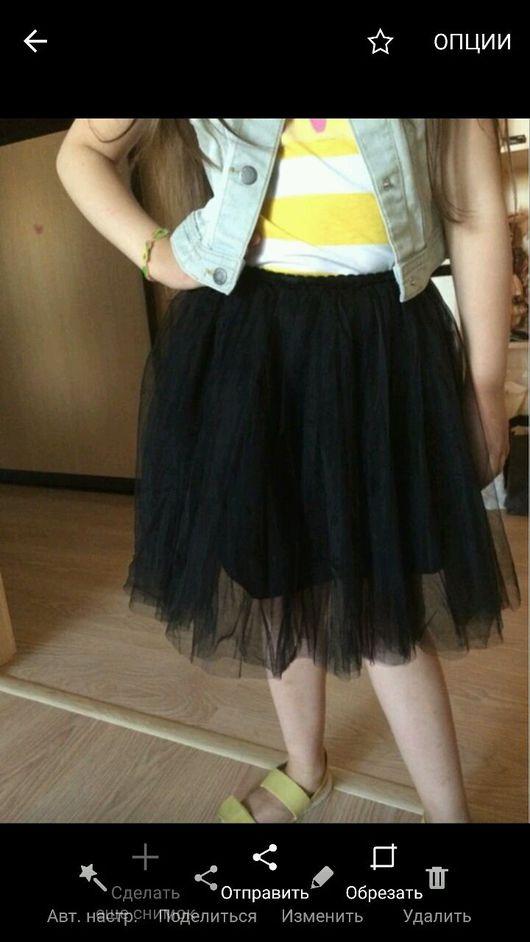 Одежда для девочек, ручной работы. Ярмарка Мастеров - ручная работа. Купить Юбка из фатина. Handmade. Фатиновая юбка, юбка фатиновая