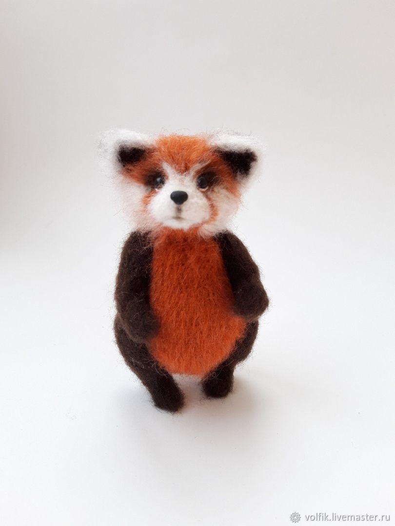 Красная панда, Мягкие игрушки, Новоуральск,  Фото №1