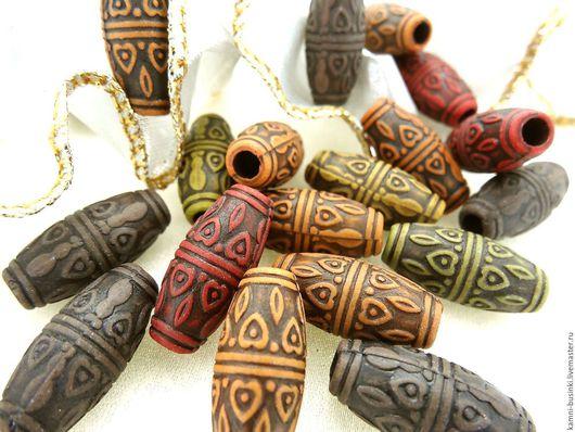 Этно бусины из люцита бочонок в ассортименте. Этнические бусины для украшений, яркие этно бусины для колье, бусины в этно стиле для браслетов, серег.