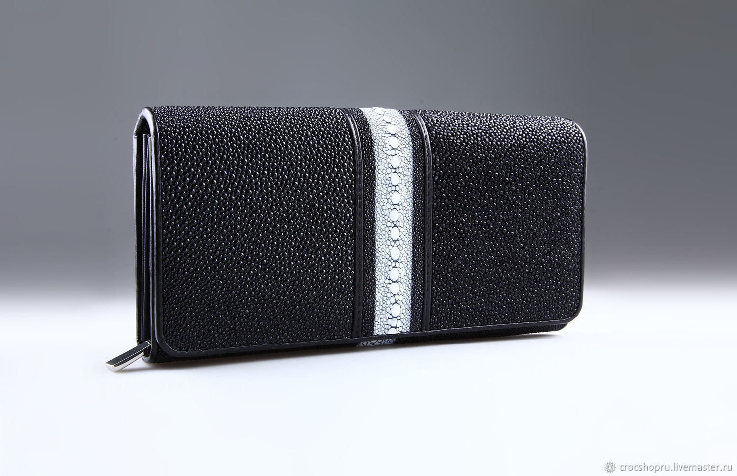 Stingray leather wallet IMC0010B, Wallets, Moscow,  Фото №1