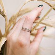 Украшения handmade. Livemaster - original item Minimalism ring made of silver. Handmade.