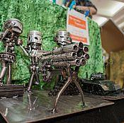 Подарки к праздникам ручной работы. Ярмарка Мастеров - ручная работа Экспозиция в стиле ТехноАрт. Handmade.