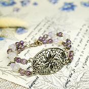 Украшения handmade. Livemaster - original item Amethyst bracelet. Handmade.
