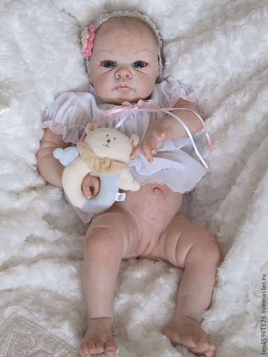 Куклы-младенцы и reborn ручной работы. Ярмарка Мастеров - ручная работа. Купить Джилл.. Handmade. Реборн недорого, кукла реборн