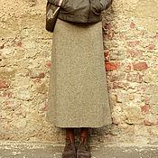 Одежда ручной работы. Ярмарка Мастеров - ручная работа Юбка Твид. Handmade.