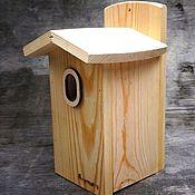 Дача и сад handmade. Livemaster - original item Handmade birdhouses with oval entrance for garden birds. Handmade.