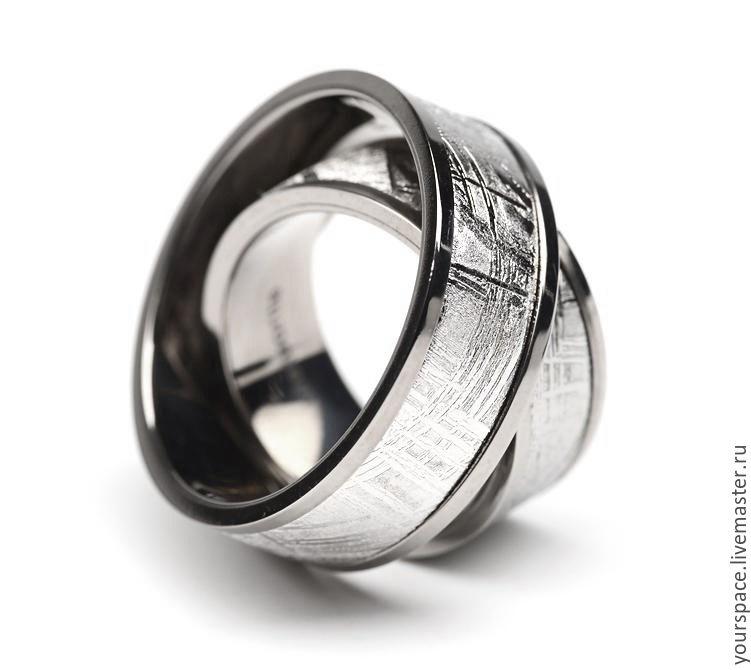 Wedding rings made of meteorite!!!!, Wedding rings, St. Petersburg,  Фото №1