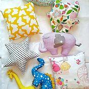 Мягкие игрушки ручной работы. Ярмарка Мастеров - ручная работа Текстильные игрушки. Handmade.