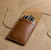 Канцелярские товары ручной работы. Ярмарка Мастеров - ручная работа Пенал для карандашей. Handmade.