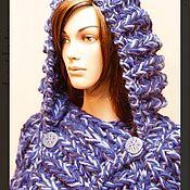 Одежда handmade. Livemaster - original item Jacket-jacket with hood and pockets. Handmade.