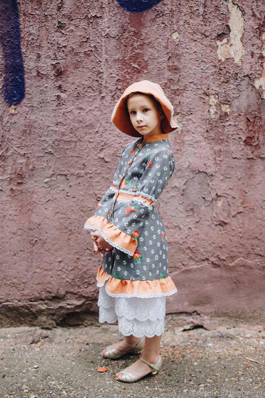 """Одежда для девочек, ручной работы. Ярмарка Мастеров - ручная работа. Купить Жакет """"Ульяна - 2"""". Handmade. Лето, весна-осень"""