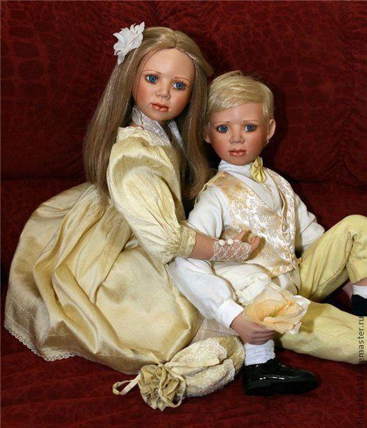 Винтажные куклы и игрушки. Ярмарка Мастеров - ручная работа. Купить Прекрасная пара для гостиной, куклы. Handmade. Куклы коллекционные