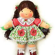Куклы и игрушки ручной работы. Ярмарка Мастеров - ручная работа Ягодка-Июнька, 36 см.. Handmade.