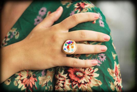Кольца ручной работы. Ярмарка Мастеров - ручная работа. Купить Кольцо Царь-Птица. Handmade. Перстень, медное украшение