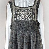 Одежда ручной работы. Ярмарка Мастеров - ручная работа Сарафан вязаный. Handmade.