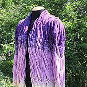 Одежда ручной работы. Ярмарка Мастеров - ручная работа Кардиган с объемными косами. Handmade.