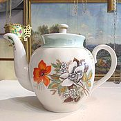 Винтаж handmade. Livemaster - original item Teapot of the USSR Dulevo. Handmade.