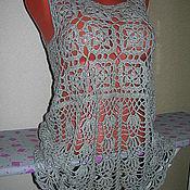 Одежда ручной работы. Ярмарка Мастеров - ручная работа Туника летняя. Handmade.