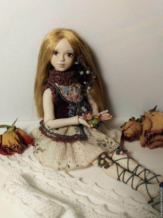 Коллекционные куклы ручной работы. Ярмарка Мастеров - ручная работа. Купить Катенька (фарфоровая шарнирная кукла). Handmade. Комбинированный, подарок