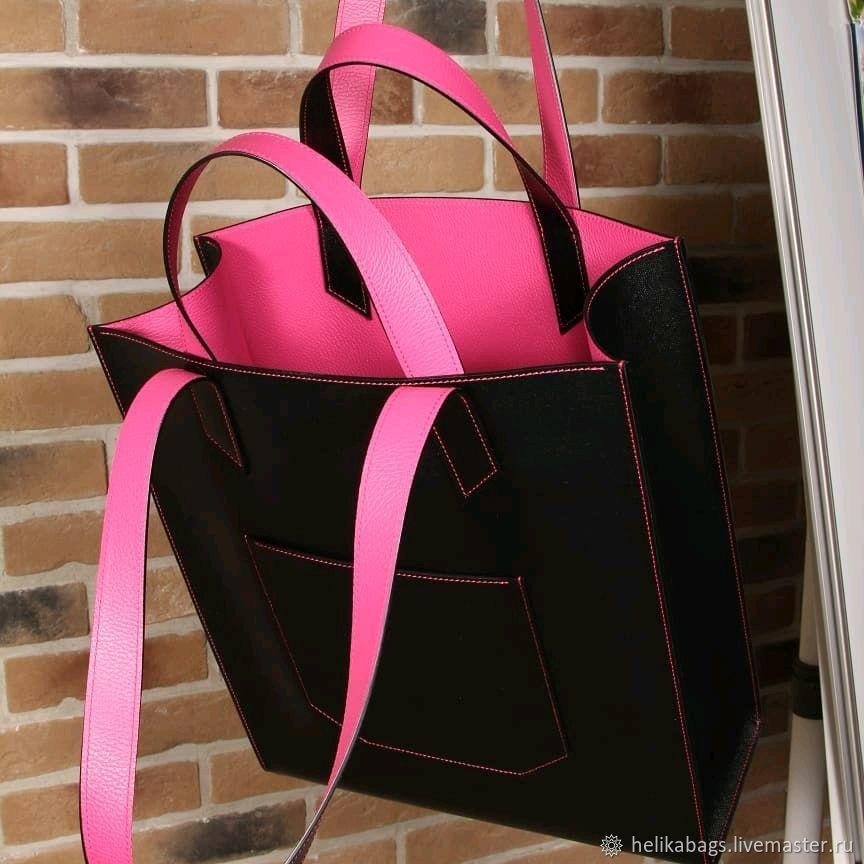 1007f0520770 Женские сумки ручной работы. Ярмарка Мастеров - ручная работа. Купить  Чёрная фуксия Сумка ...