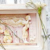Картины и панно ручной работы. Ярмарка Мастеров - ручная работа Я знаю твою тайну....... Handmade.