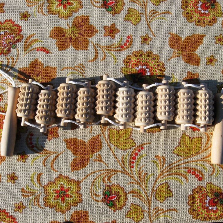 Массажер ленточный МА3215. Березовый массажер, Массажер, Асино,  Фото №1
