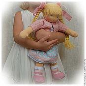 Куклы и игрушки ручной работы. Ярмарка Мастеров - ручная работа Аришка вальдорфская куколка. Handmade.