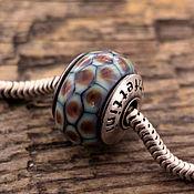 """Украшения ручной работы. Ярмарка Мастеров - ручная работа """"Мозаика"""" бусина для браслетов. Handmade."""